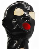 Glued Latex Hood with Internal Sheath - also with Zipper