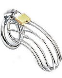 BIRD CAGE Stainless Steel Chastity Cage