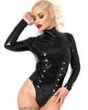 Glued Latex Spellbound Body with 2-Way Zipper