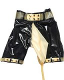 Male Latex Bermudas with Piss Bag and Tube