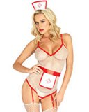 Nurse Lingerie-Set - 3-teilig