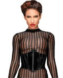 Decadence Gloss PVC Corset - up to 3XL