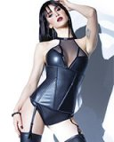 FOREVER MATTE Wetlook Bustier - up to Size 3/4XL