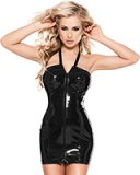 Neckholder Datex Dress with 2-Way Front Zipper