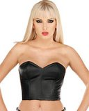 Leather Corset with Double Lacing