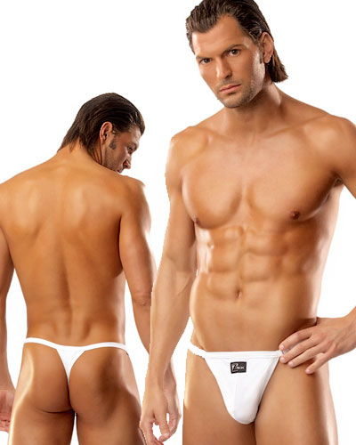 Microfibre Thong with Clasps