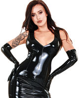 Opera Gloves - Gloss PVC