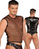 Shirt - PVC with Stretch Net
