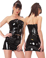 Mini Skirt - Gloss PVC