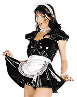 Gloss PVC French Maid's Dress