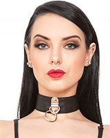 Leatherette Collar