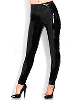 Gloss PVC Leggings - Black or Purple