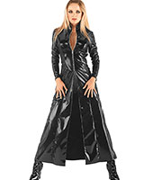 Gloss PVC Black Matrix Coat