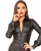 Ladies' Leatherette Shirt