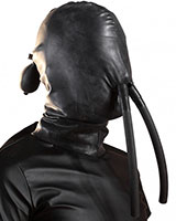 Inflatable Latex Hood with Nose Tubes