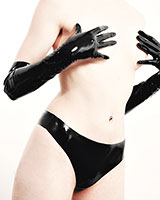 Latex Mini Briefs
