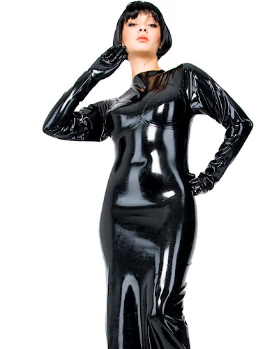 Latex Gown