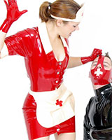 Nurse Latex Uniform