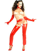 Latex Chaps - also Available with Zipped Legs
