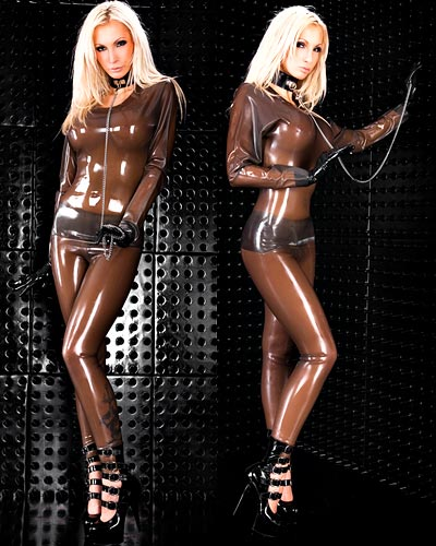 Anatomical Latex Leggings - Optional Zipped or Open Crotch