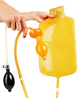 Latex Enema Bag - 4 Litre