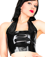 Glued Latex Top with Neckholder