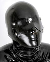 Anatomical Latex Hood with Eye Flap - 0.6 mm