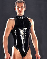 Latex Body with Front Zipper