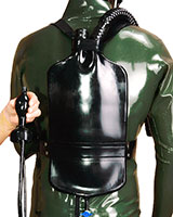 Latex Enema Backpack