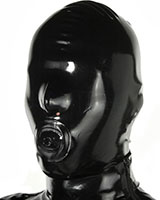 Latex Hood with Gag