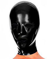 Anatomical Female Latex Hood- No Openings - 0.4 mm