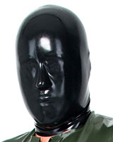 Anatomical Male Latex Hood - No Openings - 0.4 / 0.6 mm