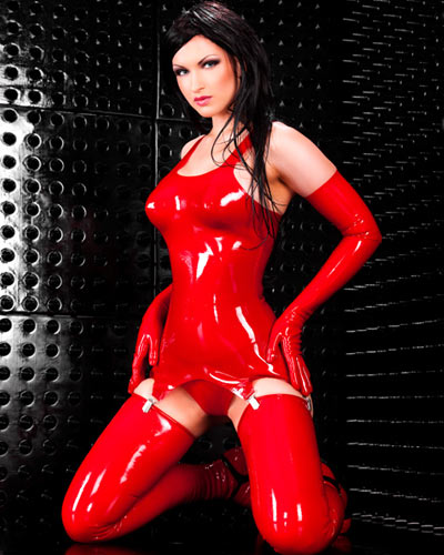 Latex Suspender Corset - 0.8 mm