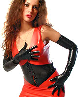 Anatomical Long Latex Gloves - also Available with Spikes