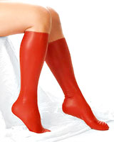 Anatomical Latex Knee Highs - also with Internal Spikes