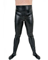 Anatomical Latex Tights - Optional with Open Crotch or Zipper
