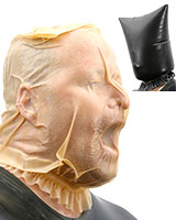 Latex Breath Control Hood - Vacuum Mask