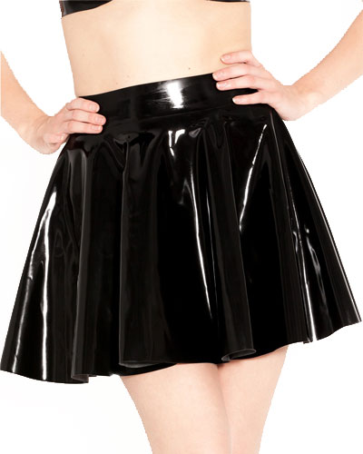 Glued Rubber Mini Skating Skirt - up to 3XL
