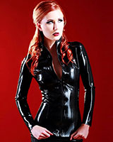 Glued Black Latex Mistress Jacket