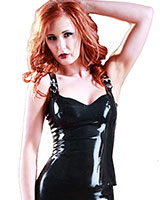 Glued Latex Madam Top