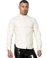 Glued White Rubber Shirt