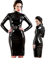 Glued Latex Incognito Dress