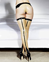 Latex Deco Stockings