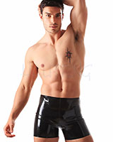 Glued Latex Boxer Shorts