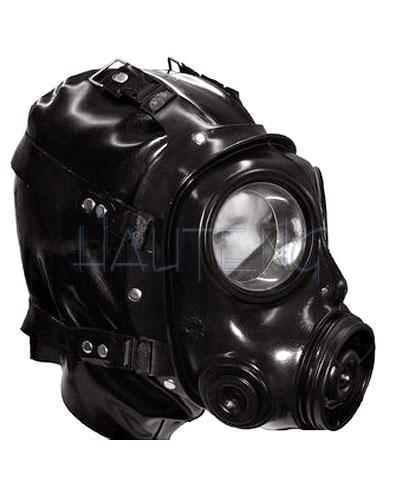 Gas mask bondage the