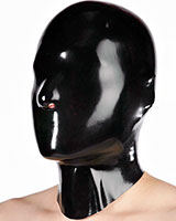 Anatomical Latex Hood with Nose Holes
