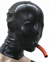 Glued Latex Hood with Breathing Pipe