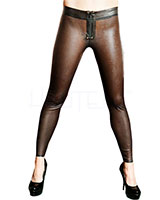Leggings aus geklebtem Latex
