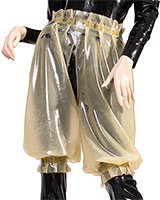 Ladies' Latex Bloomers with Open Crotch