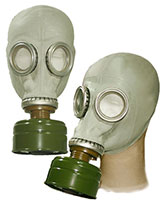 NVA Gasmask with Filter